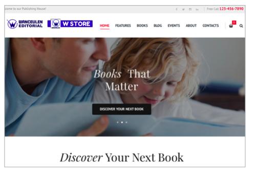 W-Store-Librería-On-Line